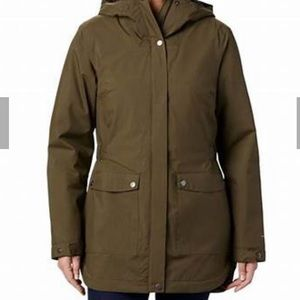 COLUMBIA HERE AND THERE INSULATED TRENCH JACKET-S